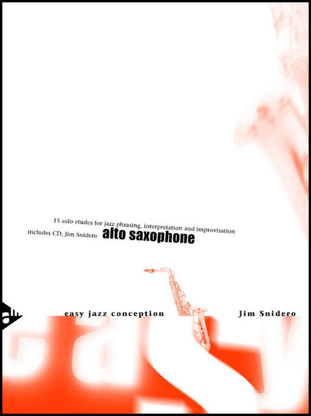 Easy Jazz Conception 1 A-Sax Advance Music