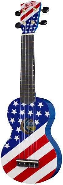 Mahalo USA Flag Ukulele