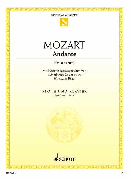 Schott Mozart Andante Fl