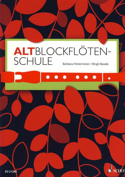 Altblockflötenschule Schott
