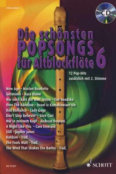 Schott Schönste Popsongs Vol.6 Alt