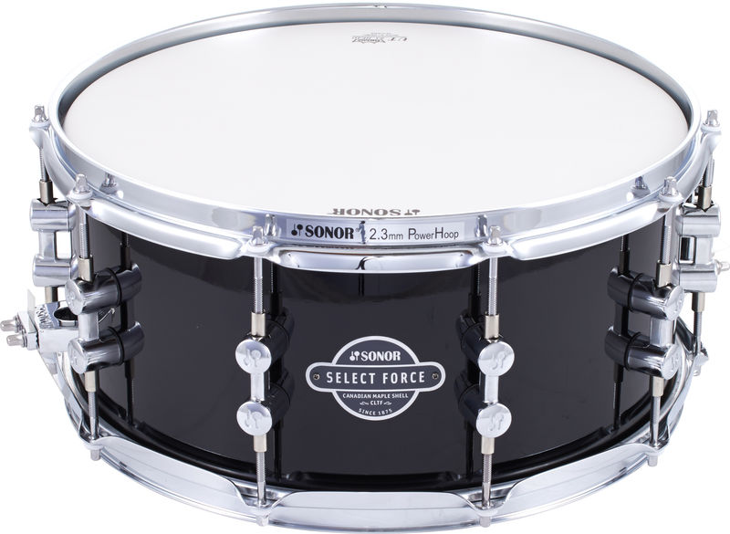 "Sonor 14""x6,5"" SN Select Piano Black"