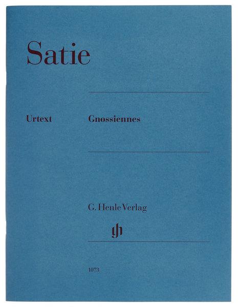 Henle Verlag Satie Gnossiennes