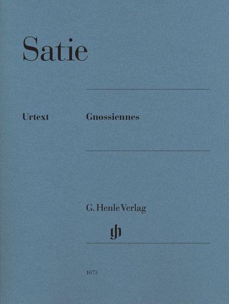 Henle Verlag Erik Satie Gnossiennes