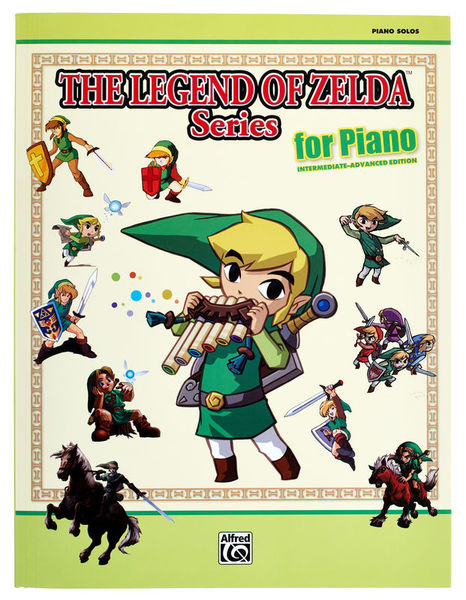 Alfred Music Publishing Legend Of Zelda Piano – Thomann UK