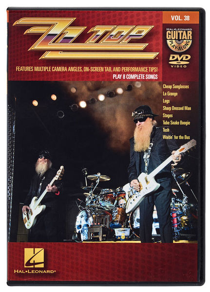 Hal Leonard Guitar Play-Along DVD ZZ Top