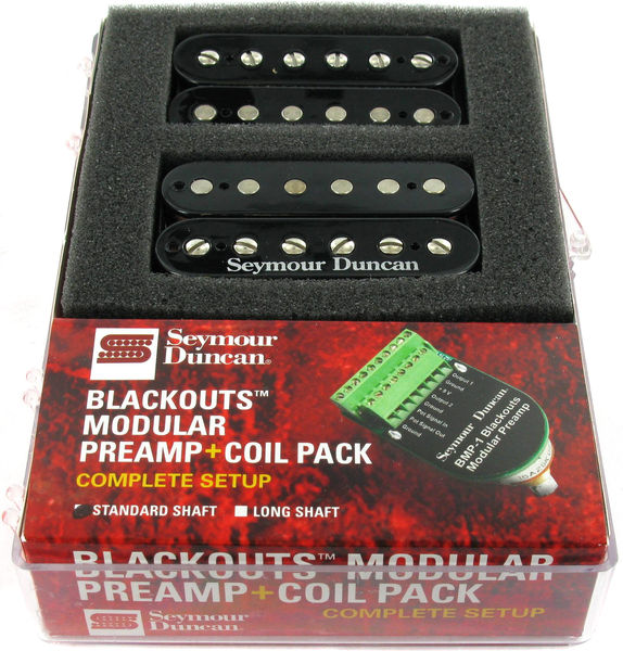 Seymour Duncan Blackouts Coil Set BK