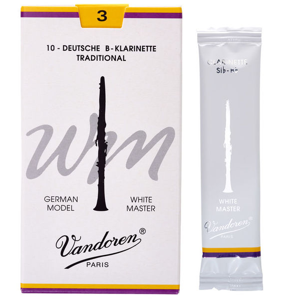 Vandoren White Master 3 Traditional