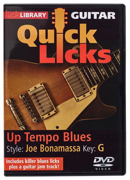 Music Sales Quick Licks Joe Bonamassa