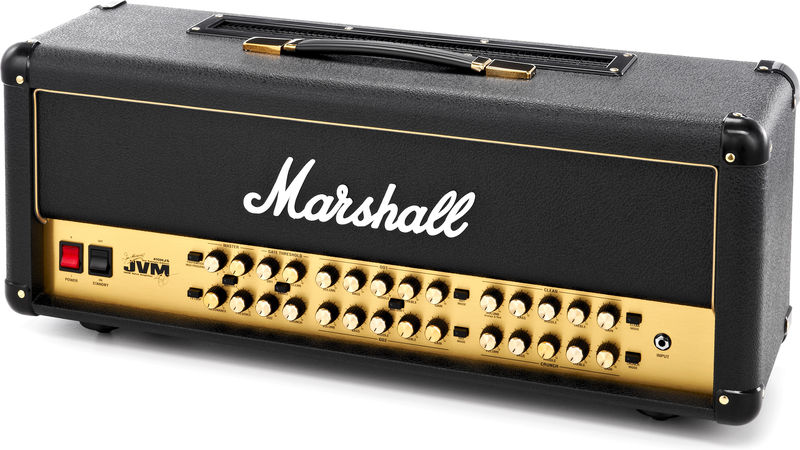 Marshall JVM410HJS Joe Satriani Head