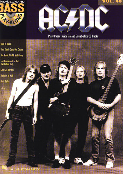 Hal Leonard Bass Play-Along : AC/DC