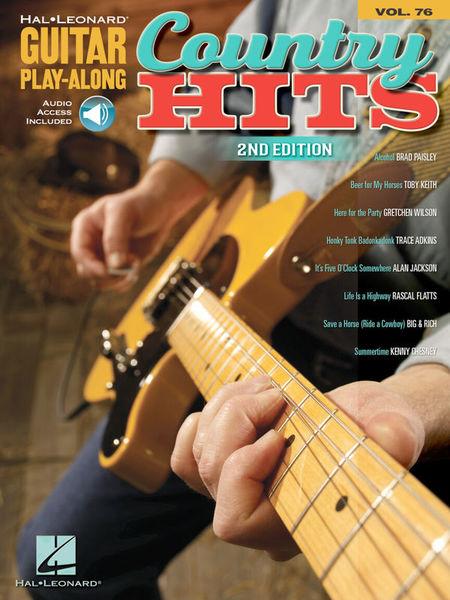 Hal Leonard Guitar Play-Along Country Hits