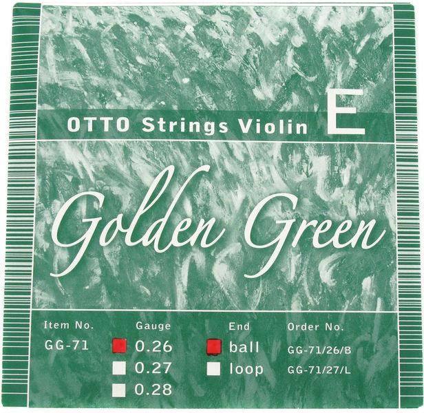 Otto Musica GG-71/26 E-String Ball-End