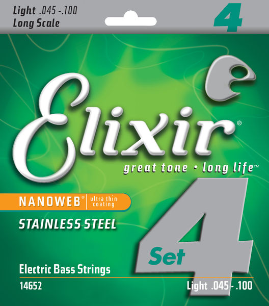 Elixir Stainless Steel Light Bass