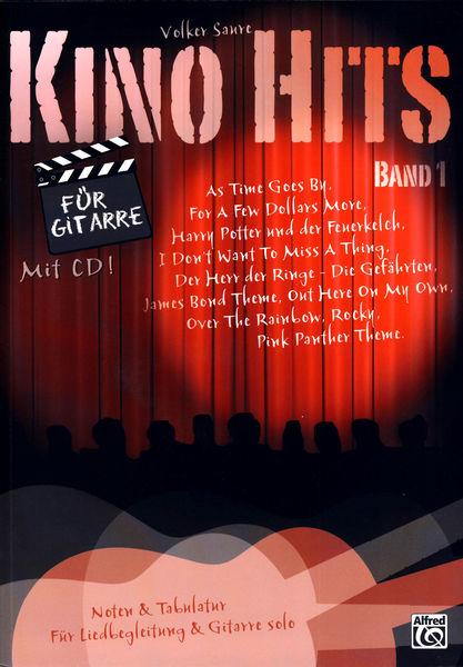 Alfred Music Publishing Kino Hits for Gitarre Vol.1