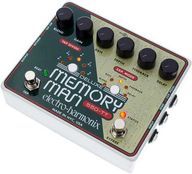 Electro Harmonix Deluxe Memory Man TapTempo 550