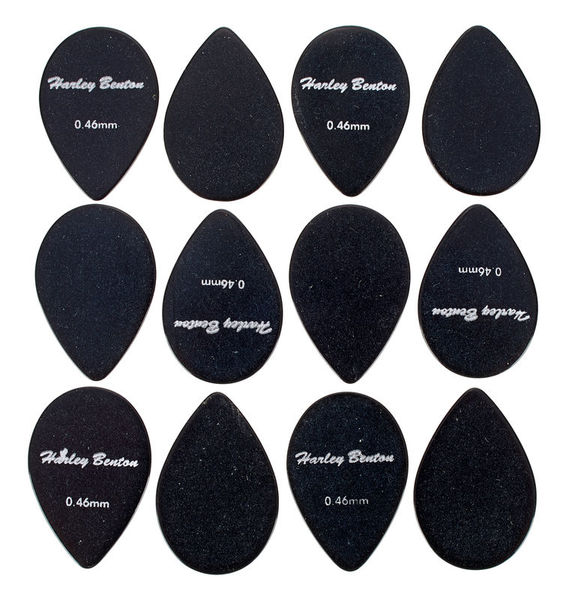 Harley Benton Small Tear Drop Pick Set 0,46