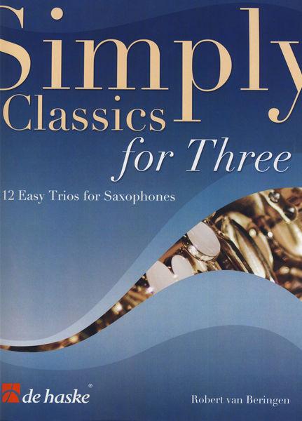 De Haske Simply Classics Three Sax