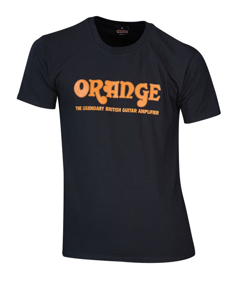 Orange T-Shirt Logo M