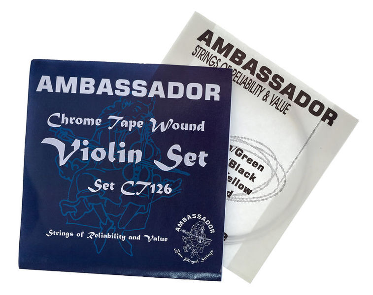 Ambassador Violin Chrome Tape Strings