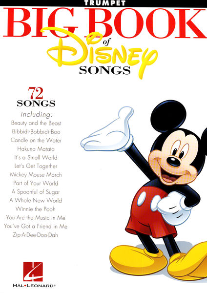Hal Leonard The Big Book Of Disney Trum.