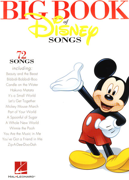 Hal Leonard The Big Book Of Disney Altosax