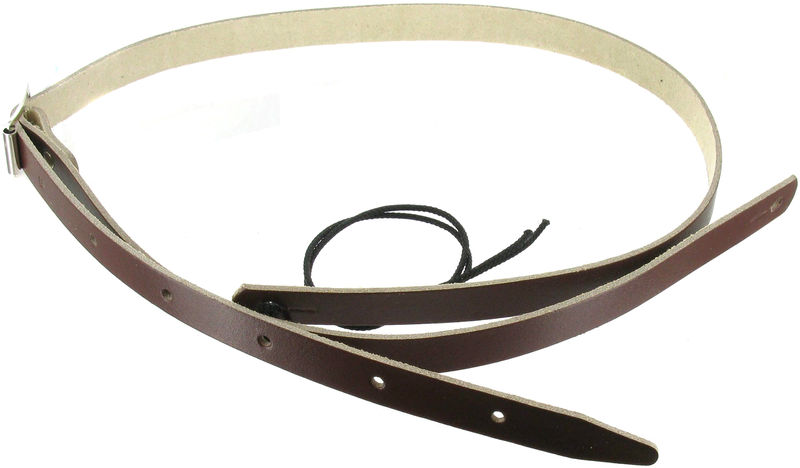 Klondyke Mandolin Strap Leather BR