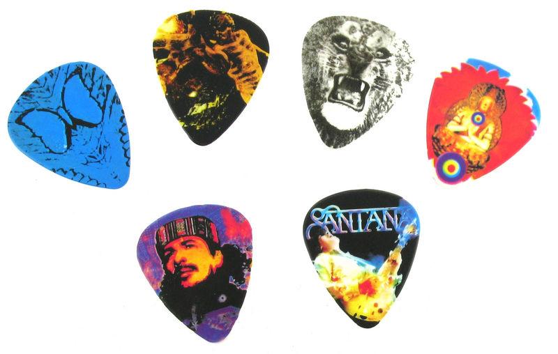 Dunlop Santana Pick Set M