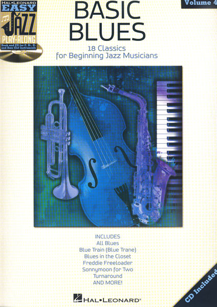 Easy Basic Blues Play Along Hal Leonard