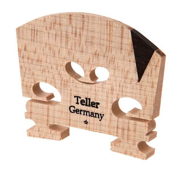 Teller Violin Bridge 41mm 4/4 V-Inlay