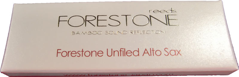 Forestone Unfiled Alto Sax, XS, F2