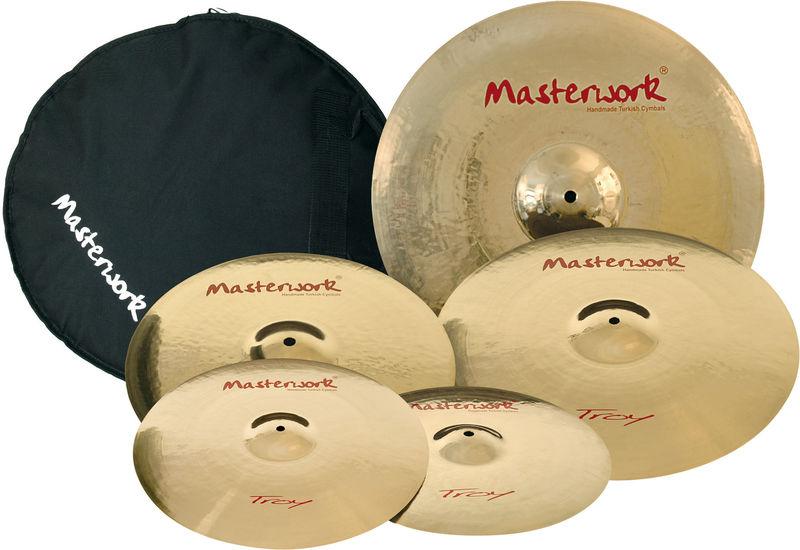 Masterwork Troy Profi Cymbal Set