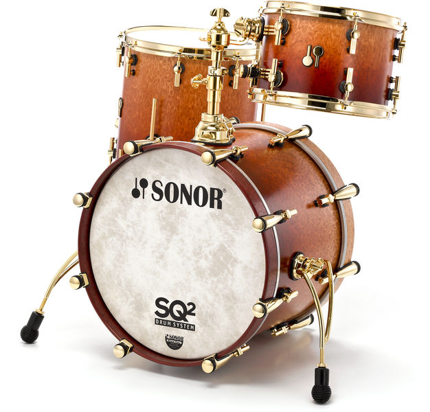 Sonor SQ2 Maple Shell Set Jazz Gold