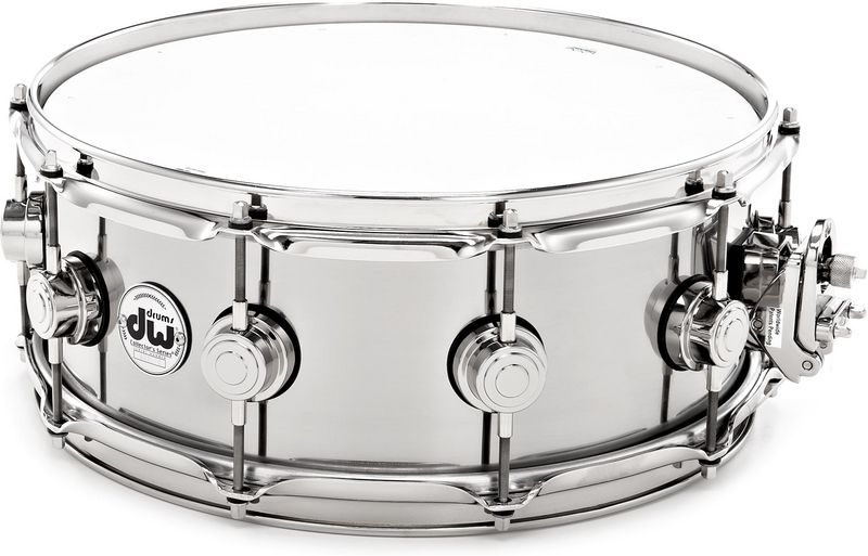 "DW 14""x5,5"" Stainless Steel Snare"