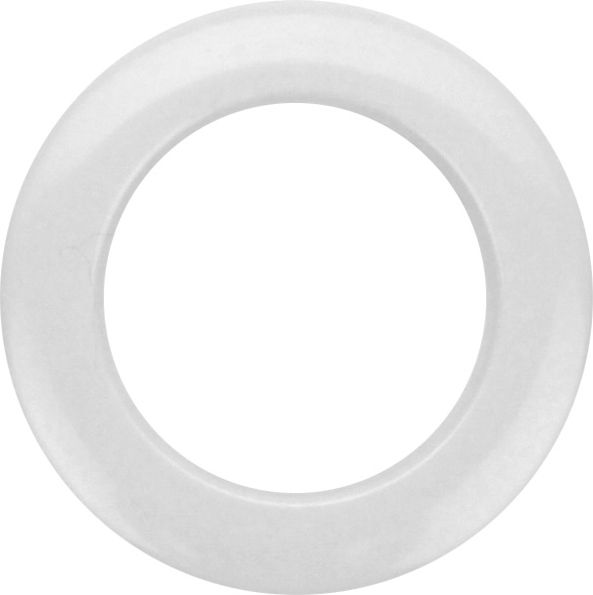 "Bass Drum O's 2"" White round HW2"