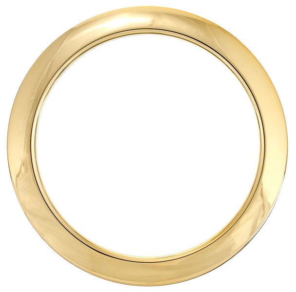 "Bass Drum O's 4"" Brass round HBR4"