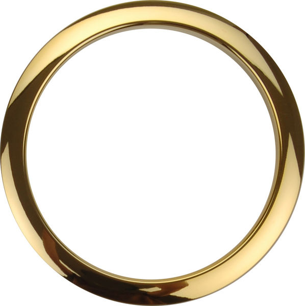 "Bass Drum O's 5"" Brass round HBR5"