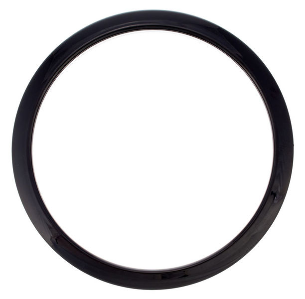 "Bass Drum O's 6"" Black round HBL6"