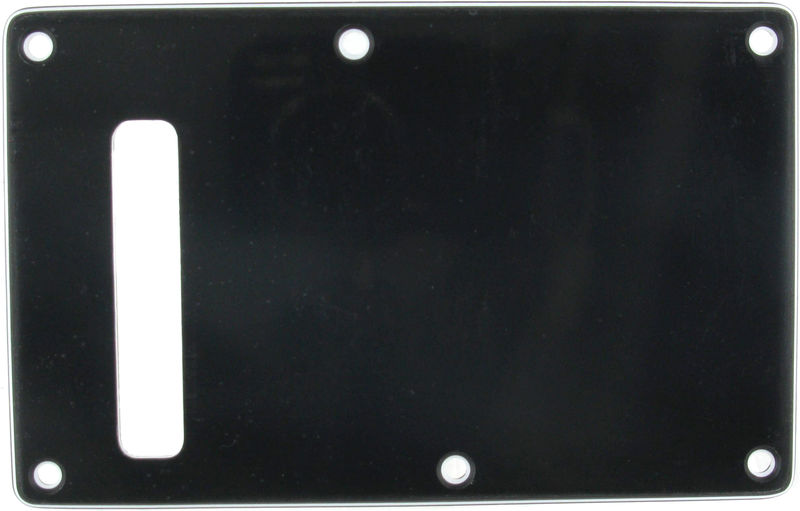 Harley Benton Parts Backplate ST-Style Black