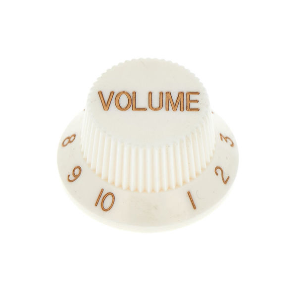 Harley Benton Parts Volume Poti Knob White