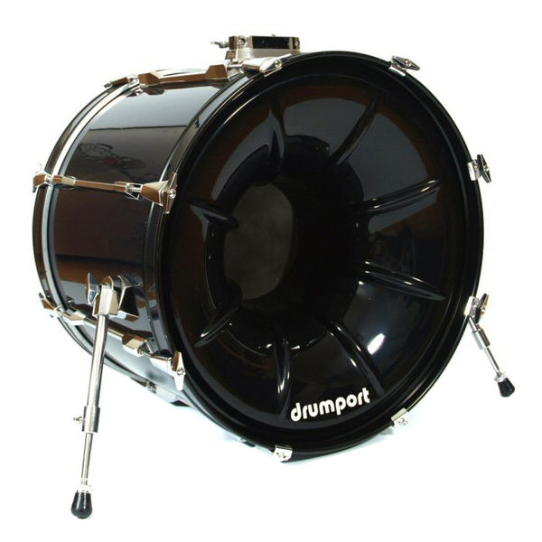 "Drumport 22"" Megaport Booster Black"