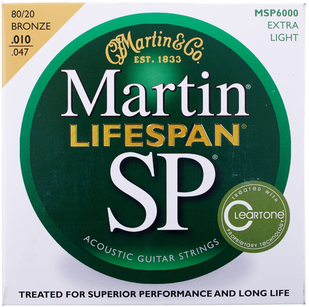 Martin Guitars SP Lifespan MSP 6000