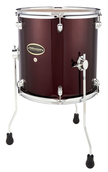 "Millenium 14""x14"" MX200 Floor Tom Red"