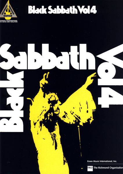 Hal Leonard Black Sabbath Vol.4