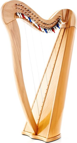 Roth & Junius RJCH-22NB Celtic Lever Harp