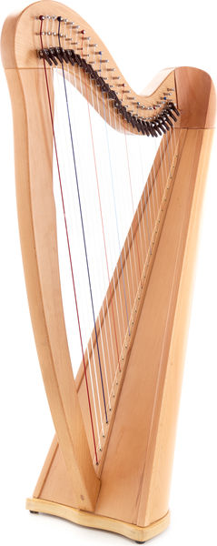 Roth & Junius RJCH-27NB Celtic Lever Harp