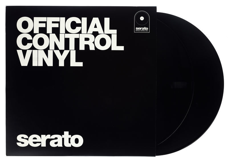 Serato Performance-Serie Vinyl Black
