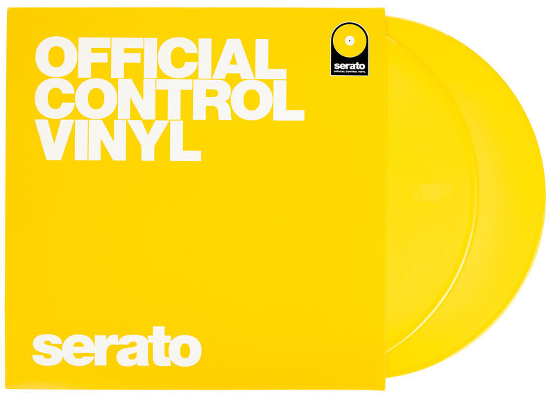Serato Performance-Serie Vinyl Yellow