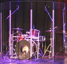 Lite 2466x5 Drum Shield Clearsonic