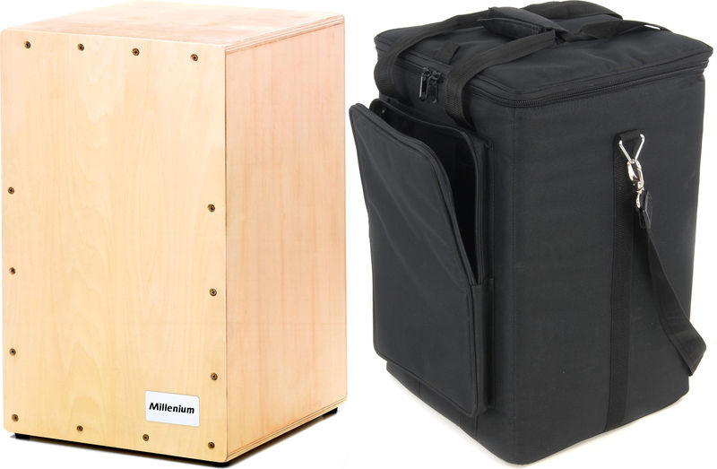 Millenium Cajon Box-1 Bundle